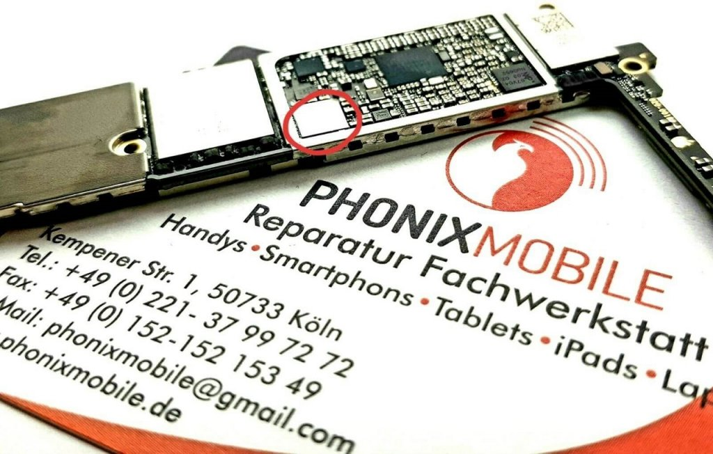 iPhone 7 Audio Chip Reparatur